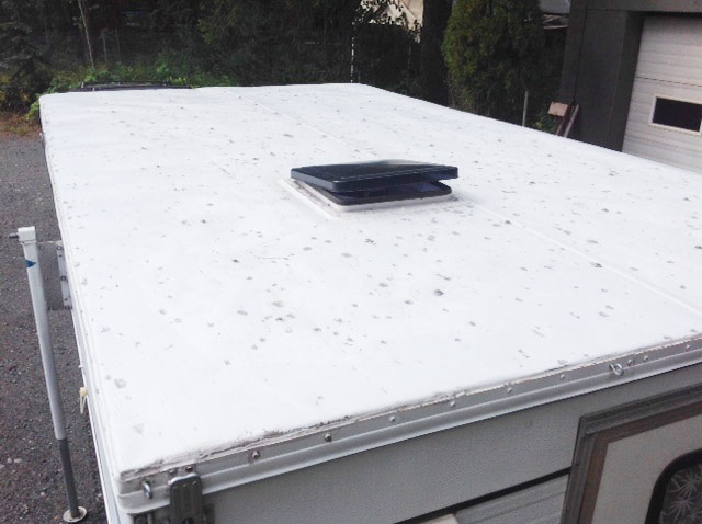 Hail Damage Repair For Your Rv Direct Rv Roofing